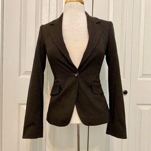 Sisley | Brown Blazer Jacket